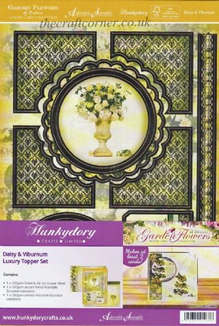Daisy & Viburnum Luxury Topper Set By Hunkydory